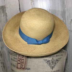 Vintage straw Lady Stetson sun hat NWT